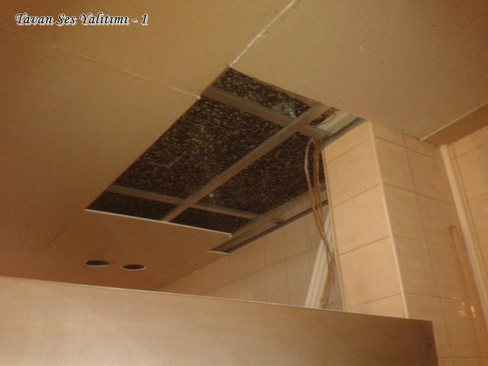 Tavan ses yalıtımı nasıl yapılır